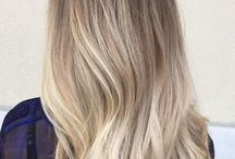 balayage haare blond