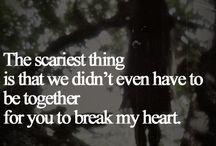 It's a heartbreak