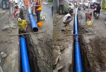 Instalasi Pipa HDPE / Install HDPE Pipe System nearby