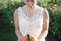Fall Bridal Style on the Farm / Pumpkins and flower gardens and all things fall were the themes for this style shoot for Lakes Region Bride. Contributing vendors: Clifford Photography, Lady of the Lake, Beans and Green Farm Stand/Timber Hill Farm, Hair Styles by Jessica