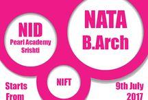 NATA, NID, NIFT coaching classes