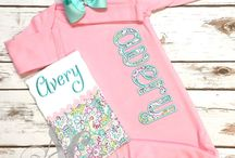 Newborn Girl Coming Home Outfits / Newborn girls coming home outfits found at Sunfire Creative.  https://www.etsy.com/shop/sunfirecreative/items?section_id=18746024