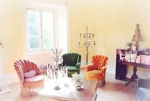 Vintage Chairs / Vintage Chairs to be used in the Wedding Lounge, Wedding Ceremony in The Quinta.