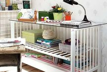 Office / Looking for ways to organize, update, and design your home office or craft room? Get all of your ideas here.