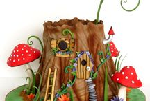 Cake Art / Fairytale cakes / by Anke Metzger
