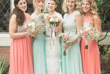 bridesmaids / bridesmaids' fashion