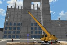 Vortex Construction Crane Simulator Training Modules / Screenshots from Vortex training modules used to train crane operators all over the world.