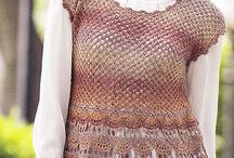 crochet blouse/tunic