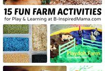 Farm / Farm theme, farm activities, farm crafts, farm printables  / by Sheryl @ Teaching 2 and 3 Year Olds