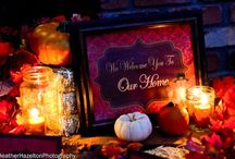 AThanksgiving decorations / by Alesia Weldon Waldrup
