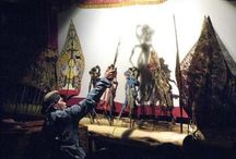 Puppet Shadow / Puppet show is the traditional performing arts. There is no evidence that Puppet existed before Hinduism came to Southeast Asia, brought by Indian traders