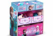 Danica's Frozen bedroom