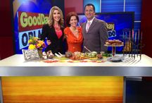#DontWorryEatHappy on TV! / Check out my appearances here! www.mealsonheelsbymindy.com