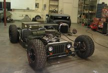 Hot rod y rat rod