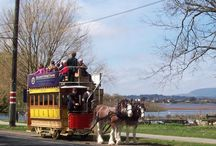 Ballarat trams in action / Every weekend, public holiday and school holiday, our trams leave the depot to travel along the shores of Lake Wendouree, through the beautiful Botanical Gardens.