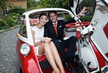 #Wedding #Getaway #Vehicles / Fancy exiting your #wedding in style, well here is a collection of the perfect #get a way #vehicles / by The Wedding Owl