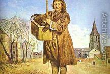 Антуан Ватто / Портреты,картины, тайна ВаттоЖан Антуа́н Ватто́, более известный как Антуан Ватто (фр. Jean Antoine Watteau, 10 октября 1684, Валансьен — 18 июля 1721, Ножан-сюр-Марн) — французский живописец и рисовальщик, основоположник и крупнейший мастер стиля рококо.