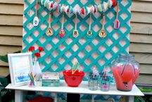 display ideas / Display ideas for boutiques, store fronts, offices, and even kids' rooms