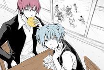 Assassination classroom / Nagisa x Karma