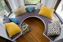 Nook Designs / Nook window seat design ideas
