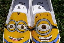 canvas shoes painting