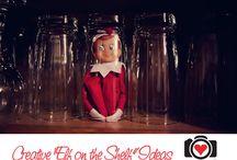 ELF on the shelf ideas / by Celine Hobbs