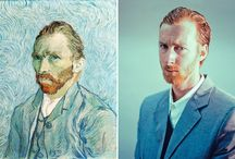 Artworks Revisited 1 / Famous paintings turn into photographs