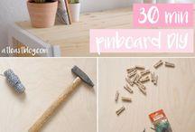 Pin board ideas