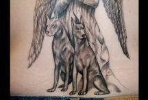 Tattoo doberman