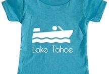 Lake Tahoe, California Baby Clothing