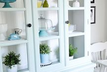 China cabinet staging