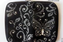 сумочка из бисера