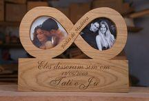 Regalo bodas madera