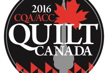 Quilt Canada 2016 / Canada's national quilt conference featuring workshops, lectures, the National Juried Show and over 400 quilts on display, plus the biggest Merchant Mall ever!
