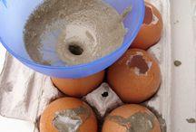 Cement eieren
