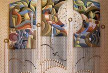 Duvar panosu halılar