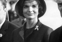 Jacqueline Kennedy: Research / Jackie O was the wife of the 35th president of the U.S.A., John F Kennedy. Jackie O was first lady during JFK's presidency from 1961 until his assassination in 1963. Jackie O was known for her grace and elegance and became a style icon of the 60s. As a public figure, Jackie O was often photographed in different settings: in a formal scene closely surrounded by the public, in an intimate setting with her family, and also in close-up shots of herself portraying her graceful individuality.
