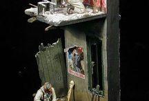 Figures dioramas