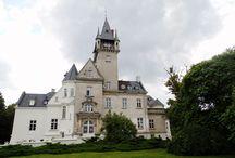 Osowa Sień - Pałac / Pałac w Osowej Sieni wzniesiony w latach 1890-1904. Obecnie - własność prywatna - luksusowy hotel.  Palace in Osowa Sień erected in 1890-1904 years. At present - private property - luxury hotel.