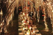 Lighting / Brilliant, illuminating ideas for your enchanted forest wedding