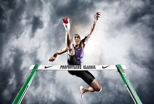 Inspirations - athletics / ideas for shoots with athletics sportsmen