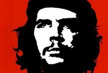 """Che Guevara """" Révolutionnaire """" / Che Guevara """" 1928 à 1967 """" de son vrai nom Ernesto Rafael Guevara révolutionnaire marxiste et internationaliste argentin exécuté par la CIA en Bolivie. Compagnon de Fidel Castro lors de la révolution cubaine."""