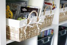 Craftrooms and craftorganizing...... / by Jetty Gerrits-Kaldeway