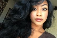 Black Women Hair Styles / Black Women Hair Styles, shop the premium remy hair extensions on Belaca Hair shop: http://www.belacahair.com/ / by Black Hair Information