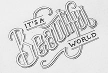 Fonts and Typography / Fonts, typography and letter forms I love.