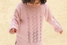 Girls knitted jersey
