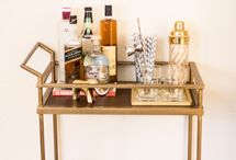 home | bar cart / by sandra