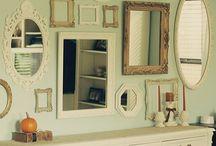 Quadros e espelhos