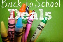 Back to School | Deals & Steals / School supplies, deals, school essentials, and more!