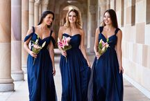 Bridesmaids dresses / accessories